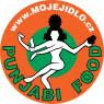 Logo Punjabi food